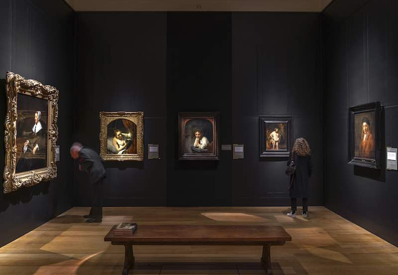 Rembrandt art theft - Dulwich Picture Gallery