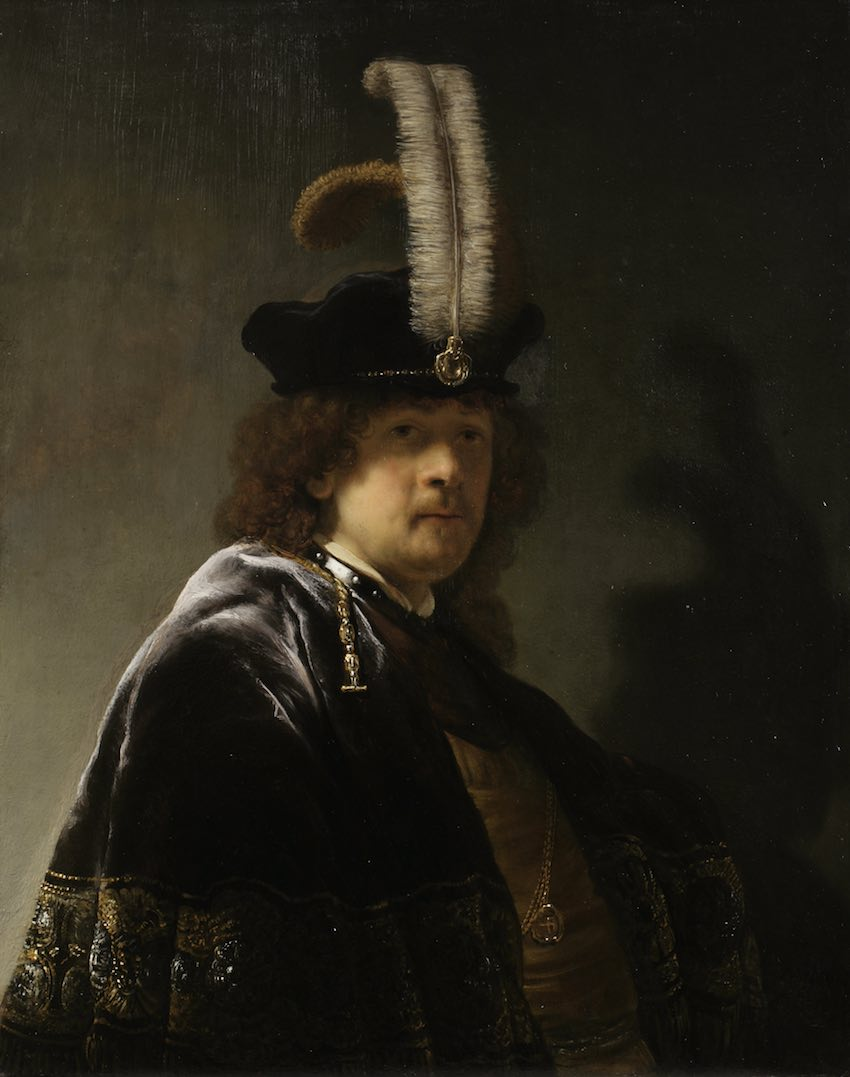 Rembrandt painting exhibited in London for the first time