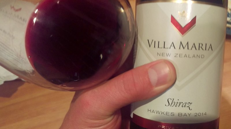 Villa Maria Private Bin Shiraz Hawkes bay 2014