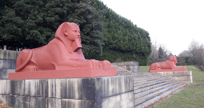 crystal palace sphinx