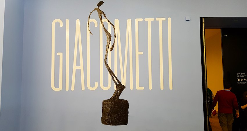 Giacometti at the tate Modern London