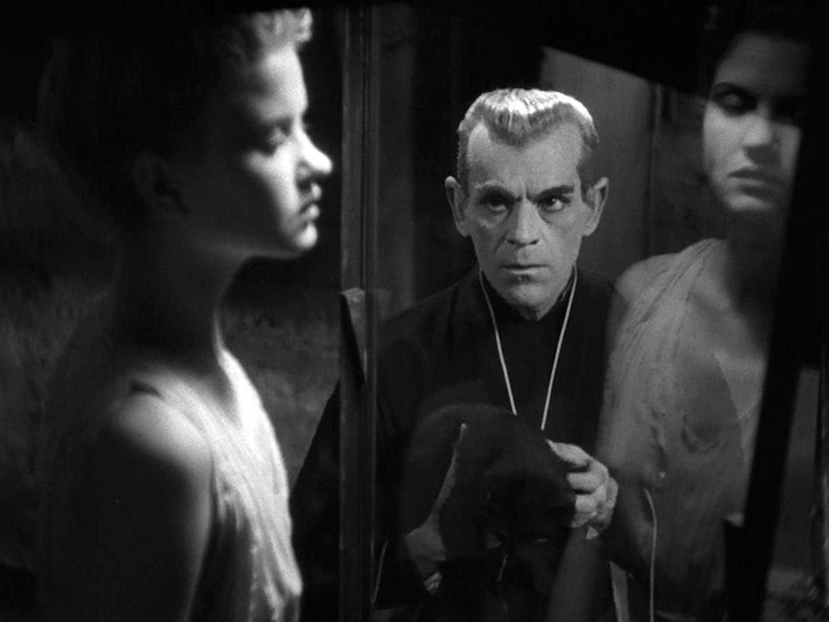 Boris Karloff in The Black Cat